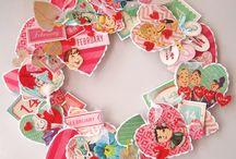 LOVE Валентинки и сердца