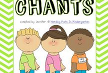 Kindergarten songs and chants
