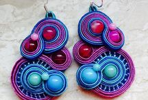 My Soutache Jewels / This board is dedicated to all soutache creations made by myself.