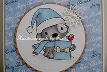 Digi stamp boutique cards....by me