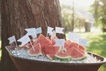 *Rachelle + Ryan {wedding}* / A relaxed, summery Montana wedding in a variety of pinks.