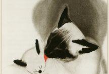cat' art