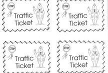 Skole - trafikk / Undervisning