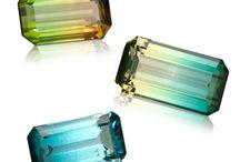 Drágakövek. / Gyémánt, opál, ametiszt, thurmalin,