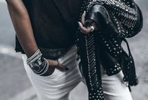 Fashion Trend: Love for Leather / Leather items that every rock chick should have to complete her wardrobe. From classic jackets to jeans, this is the place where I share my love for Leather with you! ☆