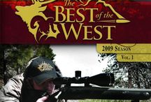 """Best Of The West: Season 9 Vol. 1 (DVD/TV) / (Short Synopsis) """"The Best of the West TV Show brings you the Science of Long Range shooting! Join host Dan Miller, and the Pro Staff of The Best of the West, as well as some of the biggest stars in rodeo, as they head out to some of the greatest hunting locations in western North America."""" (Starring) Dan Miller. / by Green Apple Entertainment"""
