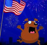 Fourth of July / Please, please, please be safe...and make your Little Pampered Dog feels safe and comfortable during fireworks. You don't want the holiday to end in tragedy. Share this with other dog owners.