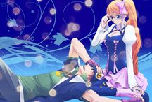 Andy and Mix ♥ / Aquarion EVOL couple ♥  Andy W. Hall ♥ Mix