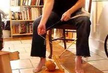 Spinning, weaving etc