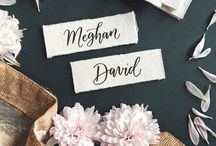Wedding & Event Lettering