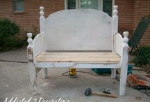 Benches selfs made