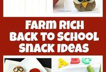 Farm Rich Snack Attack / Snack ideas using #FarmRich #GotItFree