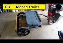 DIY moped