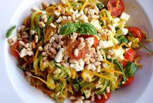 Gemüsespagetti