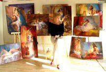 Art-Anna Razumovskaya  / by fredda/fred Kellogg-McMahon
