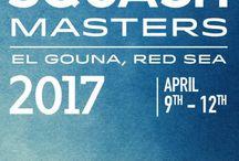 International Squash Posters