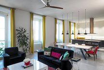 PROGETTI / Immagini di interni, abitazioni, stanze realizzate con i radiatori IRSAP *** Pictures of intiriors, homes and spaces realized using Irsap radiators