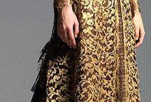 Gold / Gold dresses