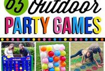 OYTDOOR PARTY GAMES
