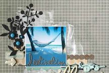 My stuff ... with La Malle à Scrap