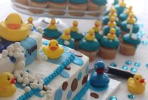 Duck Baby Shower Cakes / Duck Baby Shower Cake ideas for those having a duck or rubber duck baby shower theme. / by Modern Baby Shower Ideas