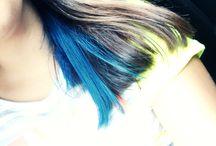 Mavi saçlar / Saç