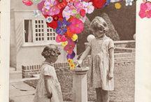 Collage art 2D