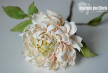 My foamiran flowers
