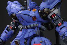 Gunpla_ColorScheme (Blue) / Gunpla blue color scheme ideas/examples