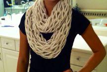 Knit scarfs /   / by Sheryl Mcfarlin