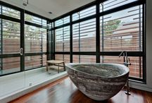 Stone bath tubes