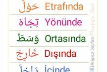 Arapça ögreniyorum