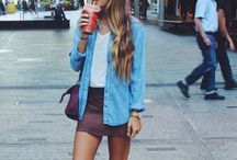 Street style w/ adidas & converse sneakers