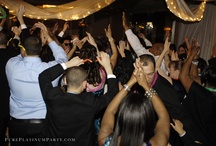 Dancing the Night Away / Get out on the dance floor! Take a look at some of our collection of guests and the bridal parties dancing the night away. Music at these weddings were provided by Pure Platinum. We provide Award Winning Entertainment, Photography and Videography.