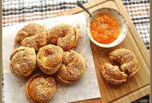 Ψωμάκια με μαρμελαδα