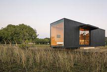 Casas de madera mínimas