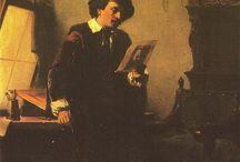 Rembrandt in de negentiende eeuw / In de negentiende eeuw werden de levens van vele historische personen gereconstrueerd; vaak waren dat geschilderde legenden. Van de schilders was Rembrandt een van de meest uitgebeelde, zowel in Nederland als daarbuiten.