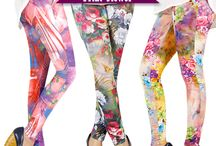 Floral Leggings / www.fashionworld.co.id