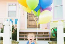 First Bday Picture Ideas