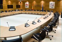 Round Conference Table / Conference tables as Travis, Pallete or Logon as a round table systems.