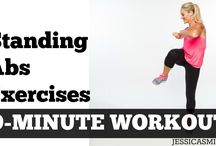 Workout - Standing strength/toning  for beginners