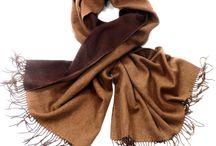 Etoles laine / Etoles en laine - étoles en laine et fourrure - étole double face - étole hiver