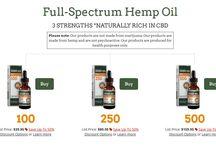 Hemp Oil / Full-Spectrum Hemp Oil