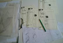 Developing a new Merckwaerdigh Sewing Pattern / The whole process of developing a new DIY lingerie sewing pattern for the Merckwaerdigh collection