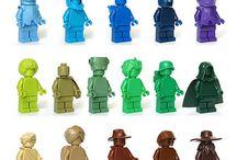 Lego Monochrome Minifigures