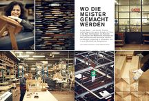 Hauser features the Cassina carpentry workshop / Cassina, where traditional craftsmanship and innovative technology meet to create authentic design.  The German magazine Hauser features the Cassina carpentry workshop
