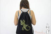Mochilas / Algunas de nuestras mochilas.