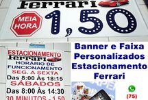 Banners e Faixas personalizadas