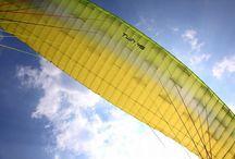 パラグライダー / 長野のパラグライダースクール - 2人乗り観光パラグライダー専門のスクールです。