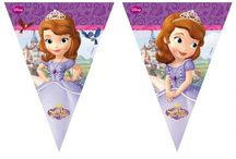 Disney Sofia het Prinsesje / Doe ideeën op voor een compleet kinderfeestje in het thema Sofia het Prinsesje. Van een mooie jurk tot talloze mooie versieringen en benodigdheden.